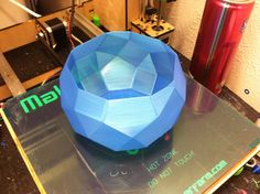Faceted Bowl by coolusername.