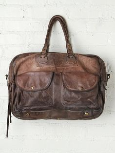 Vive Le Difference Washed Leather Tote at Free People Clothing Boutique