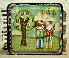 Making notebooks. From www.kimdellow.co.uk