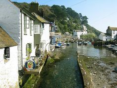 Polperro harbour, Cornwall. A very pretty West Country fishing village, with tourism as it's main source of income nowadays.