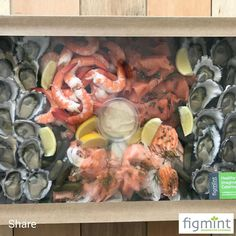 Loving the new recyclable packaging for our drop off catering. Perfect for yacht catering or DIY parties. This is our seafood platter. Hmmm Hmmm. #figmintcatering #yachtcatering #diyparties #entertaining #parties #celebrations #sydneycaterer #dropoffcatering #easycatering