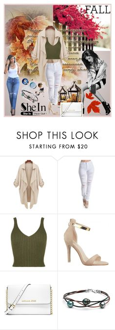 """""""She in contest Entry"""" by lataarv ❤ liked on Polyvore featuring 7 For All Mankind and MICHAEL Michael Kors"""