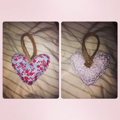 Made these :) love to make hearts so fun! Xx :)