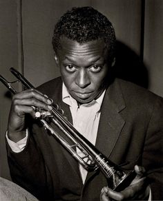 Miles Davis [1926, Alton, IL - 1991, Santa Monica, CA] was an jazz musician, trumpeter, bandleader, and composer. Widely considered one of the most influential and innovative musicians of the 20th century, Miles Davis was, together with his musical groups, at the forefront of several major developments in jazz music, including bebop, cool jazz, hard bop, modal jazz, and jazz fusion.