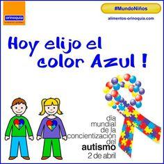 #OrinoquiaparaHoy nos unimos para concientizar sobre el #autismo Hoy elegimos el azul