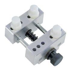 DIY Tool Mini Small Table Vise 360 Degrees Rotating Micro Vise Silver