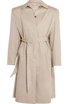 Balenciaga - Cotton-twill Trench Coat - Beige - FR34
