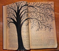 Faber-Castell PITT pens on 1952 almanac.  They gave me sketchbooks...: Growing Trees