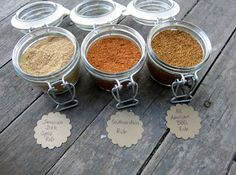Pie Birds, Buttons and Muddy Puddles: Dry Rubs Seasonings in Jars - Father's Day Idea