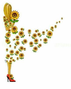 icu ~ Pin on Drawing / Desenhos ~ Trendy Drawing Easy Girl Sad Sunflower Quotes, Sunflower Pictures, Sunflower Art, Happy Flowers, Beautiful Flowers, Sun Flowers, Sunflowers And Daisies, Yellow Daisies, Sunflower Wallpaper