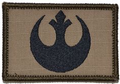 Rebel Alliance Emblem Star Wars 2x3 Military Morale Patch - Tactical Gear Junkie