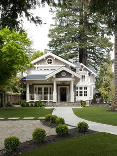 Home design, Traditional House Design American Style With Garden And Pathways In Middle Of Forest: 28 Inspiring minimalist home design ideas pictures