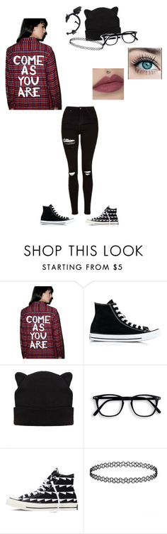 """Come As You Are."" by makayla187 on Polyvore featuring Jac Vanek and Converse"