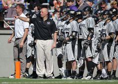 Army head lacrosse coach Joe Alberici