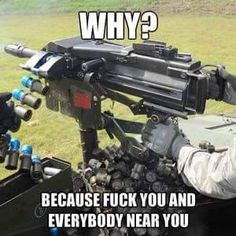 Funny pictures about Automatic Democracy Launcher. Oh, and cool pics about Automatic Democracy Launcher. Also, Automatic Democracy Launcher photos. Army Humor, Gun Humor, Military Humor, Military Life, Army Memes, Military Service, Military Weapons, Military Quotes, Bushcraft