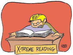 Extreme Reading Book Humor