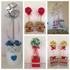 A selection of custom Christmas orders.