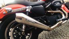 Jak podoba Wam się Harley-Davidson z układem wydechowym REMUS INNOVATION?  Tym razem prezentujemy model z serii Sportster - XL 883R. W jednośladzie został zamontowany polerowany tłumik Remus Powercone - zapewniający niesamowite brzmienie oraz stylowy wygląd!  Bogata oferta wydechów do motocykli HD w Remus Polska! http://www.remus-polska.pl/