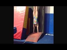 Front Handspring Side Station Blocking Drill - YouTube