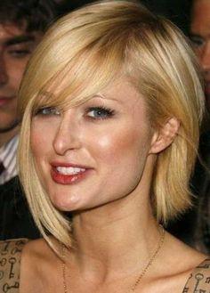 Paris Hilton's blonde bob is adorable! http://www.besthairstylesdesign.com | Best Hairstyles Design - most popular hairstyles