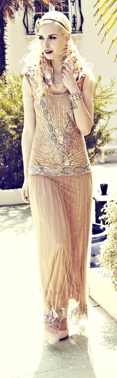 The Great Gatsby inspired vintage fashion