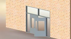 CAD Modeling and Manufacturing Drawings for Hollow Metal Doors & Windows
