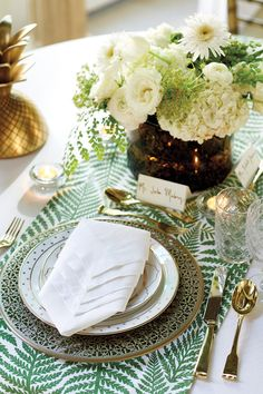 Hosting a bridal shower with Bunny Williams and Ballard Designs