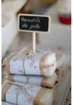 Outra variação do pão com patê, embrulhadinho como se fosse presente! foto reprodução: Stephanie Phoebus