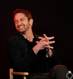 Gerard Butler: Meet the Filmmakers event for 'Olympus Has Fallen' - Apple Store, London, England - March 2, 2013