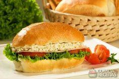 Receita de Sanduíche de pasta de ervas em receitas de paes e lanches, veja essa e outras receitas aqui!