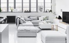 Un divano componibile per uno spazio dove socializzare - IKEA