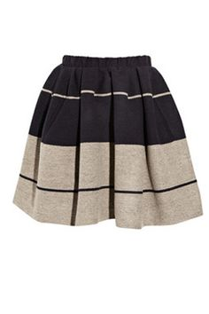 wool skirt - acne