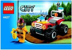 City - Fire ATV [Lego 4427]