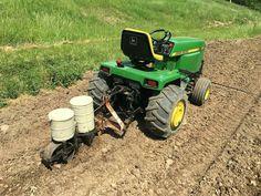 John Deere Garden Tractors, Lawn Tractors, Small Garden Tractor, Garden Tractor Attachments, Walk Behind Mower, Homemade Tractor, Tractor Accessories, Compact Tractors, Garden Equipment