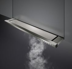 "Gaggenau ventilation | 24"" slide-out hood for exhaust/recirculating air operation | Revuu"