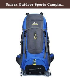 Unisex Outdoor Sports Camping Hiking Mountain Climbing Backpack Travel Daypack 70L Blue. It can carry anything from clothing to electronic gadgets like laptop and you can add much more to it. Premium organizer with multiple pockets and key fob. Tough and resilient, lightweight and breathability. Shoulder strap can be adjusted,easy to use. The side net of the backpack,you can turn on the water cup and other items. High-quality fabrics and inner lining, it will be durable. This backpack is...