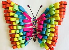 Best summer crafts for kids 52 Summer Crafts For Kids, Paper Crafts For Kids, Spring Crafts, Preschool Crafts, Easter Crafts, Diy For Kids, Kids Crafts, Paper Crafting, Arts And Crafts