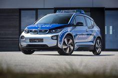 #BMWi3 jest jak #resorak - tym razem w barwach niemieckiej Policji # # # http://j.mp/1t5UfUC