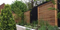 slatted screen panels