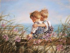 Pastel Paintings of Children by Kathy Fincher - Fine Art Blogger