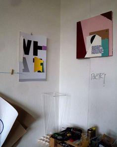 Faizal Lulat's studio. Open Studios at FUNKHAUS Nalepastrasse.(Spring 2014) #Faizallulat #openstudios #funkhaus #berlin #Oberschoeneweide #Oberschöneweide #schöneweide