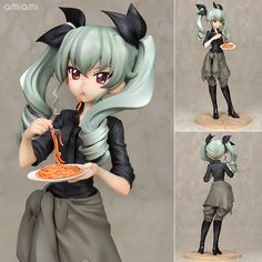 AmiAmi [Character & Hobby Shop] | Girls und Panzer the Movie - Anchovy 1/7 Complete Figure(Pre-order)