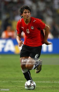 Ahmed Hegazy of Egypt in action during the Group A FIFA U20 World Cup match between Egypt and Trinidad Tobago on September 24 2009 in Alexandria Egypt
