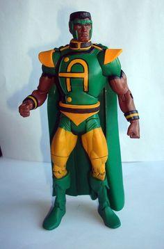 Amazing Man (DC Universe) Custom Action Figure