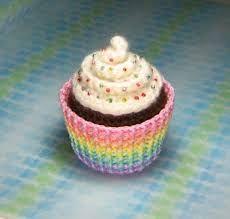 Fotos de cupcakes tejidos en crochet. - Buscar con Google