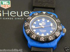 New Old Stock first gen. TAG Heuer Formula one F1 Blue with black strap 381.513