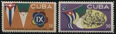 Youth games 2v, Country: Cuba, Year: 1965, Product code: scvp1031, Nr. Michel: 1031/32, Nr. Yvert: 854/55