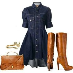 Too bad my husband would think the boots with this is a ridiculous combo! ...I'd rock it