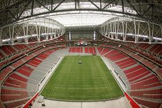 The University of Phoenix Stadium-home of the Arizona Cardinals