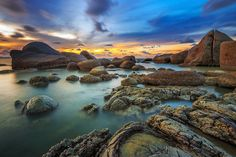 Omong Indah Beach - Canon EOS 6D and Canon EF 16-35mm F2.8 II +NiSi V5 Holder +NISI Landscape NC CPL +NISI Reverse Nano IR GND8